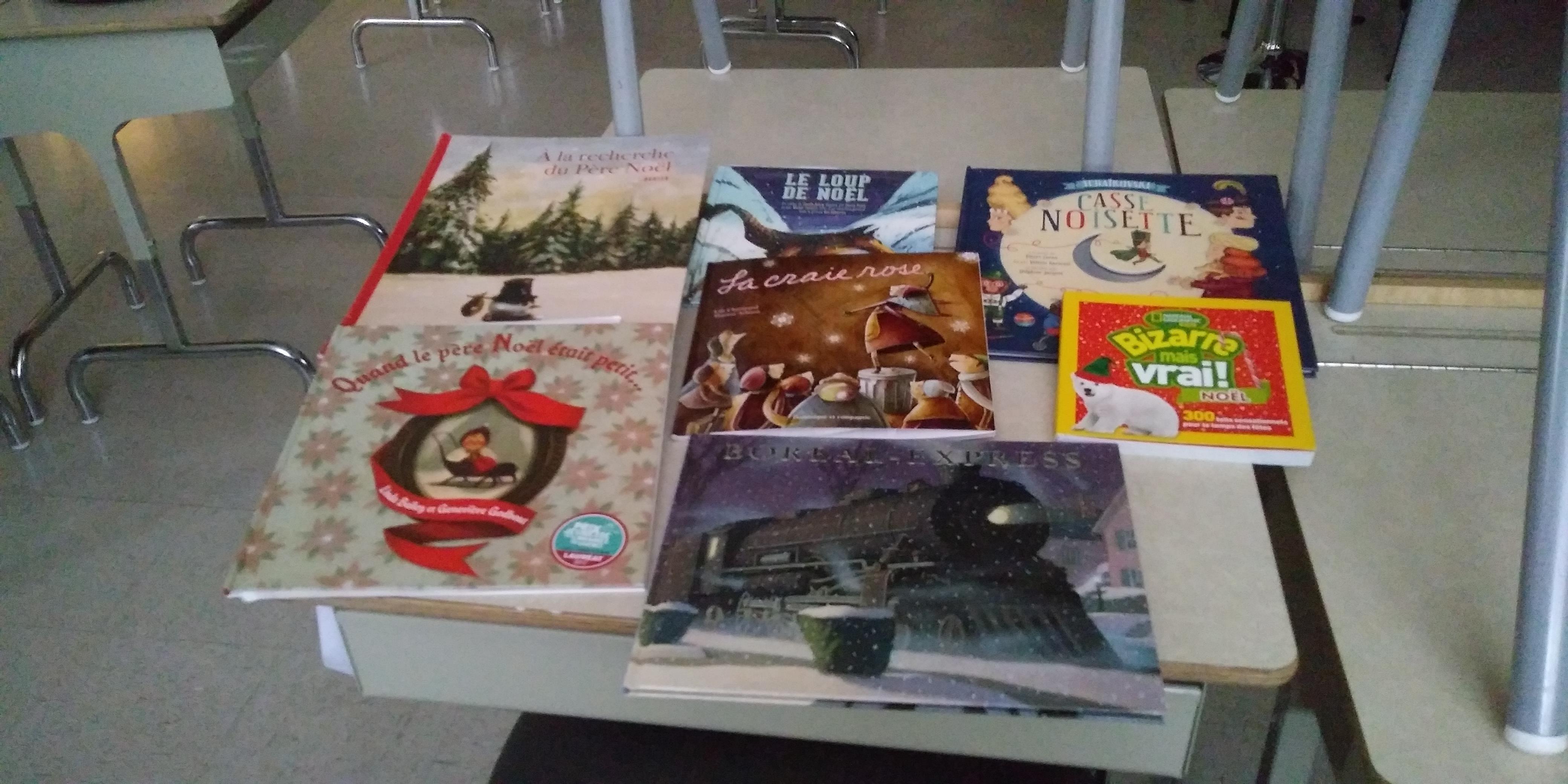 La magie de Noël en livres